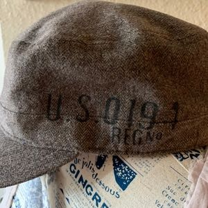 CUTE Military Style Brown Hat from OLD NAVY